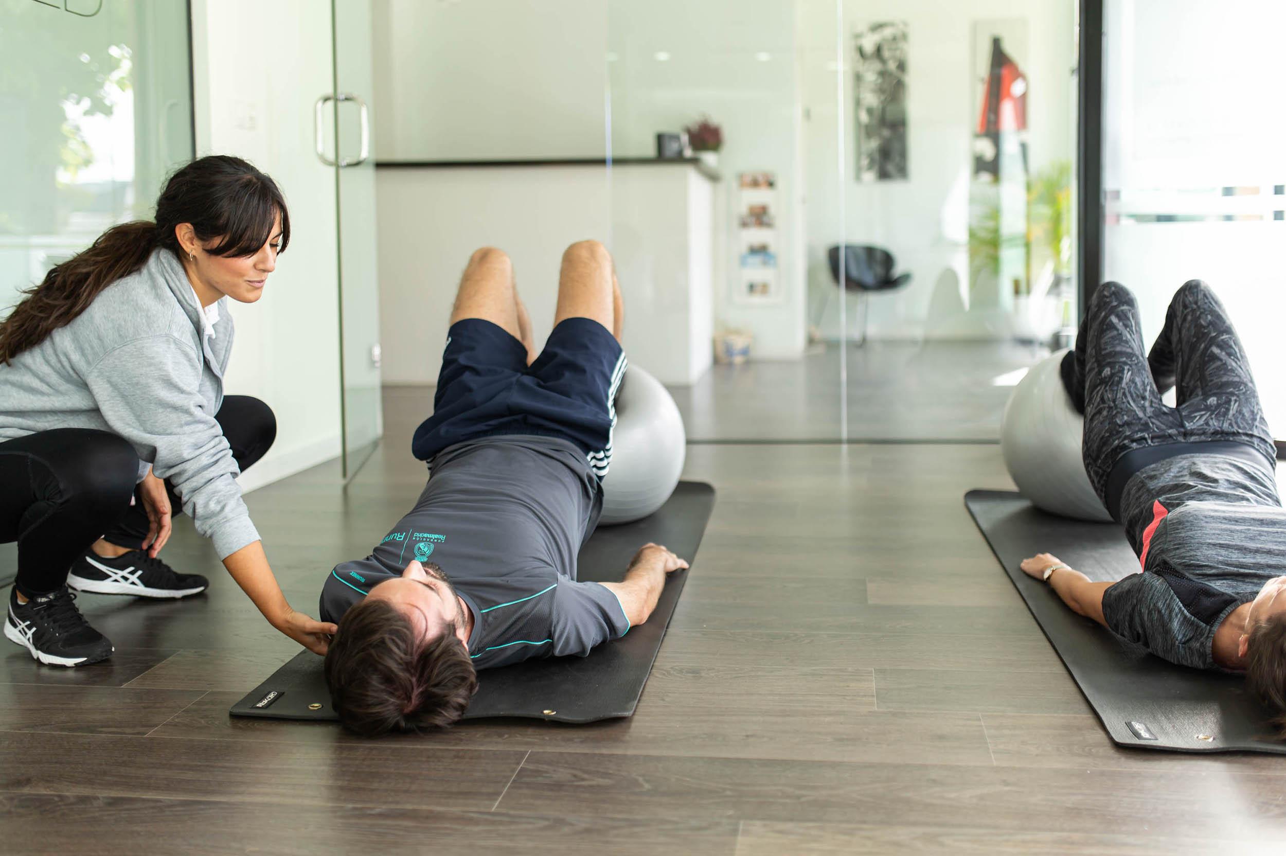 Ejercicio terapéutico de espalda